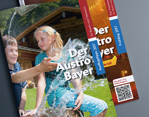 carographic Werbung Magazin Layout